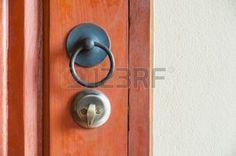 lockable: maniglia della porta d'epoca e con serratura, stile tailandese contemporaneo