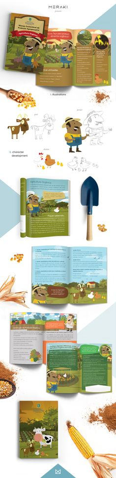 Sustainable Agricultural Management book - illustrations