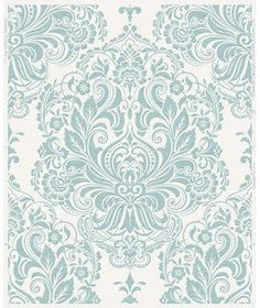 Wayfair Olana 33' x 20 Damask Wallpaper #affiliate