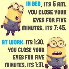Quotes for Fun QUOTATION – Image : As the quote says – Description Time funny quotes quote time funny quote funny quotes humor minions minion quotes minion quote Sharing is love, sharing is everything Minion Humour, Funny Minion Memes, Minions Quotes, Memes Humor, Funny Texts, Funny Humor, Humor Quotes, Funny School Jokes, Hilarious Jokes