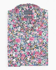Toulouse Button-Down Floral Shirt