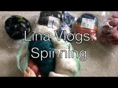 Lina Knits - Lina Vlogs: Spinning. Vlogging about woolly things between podcast episodes!
