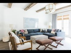 Calabasas Remodel: The Family Room Tour - YouTube | Studio McGee Webseries
