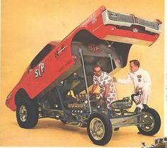 Mercury Cougar STP funny car.