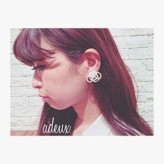 libitum jewel♡  libi-013 ¥2,500(税込)   ホワイト・アイボリー・ゴールド/ピアス・イヤリング/ゴールド・シルバー