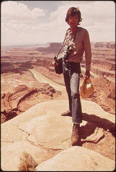 Documerica Photographer, David Hiser, at Dead Horse Point, 05/1972 | Flickr - Photo Sharing!