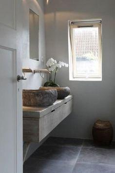 steiger houten wastafel onderbouw