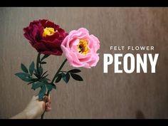 Faux Flowers, Diy Flowers, Fabric Flowers, Paper Flowers, Felted Flowers, Felt Crafts Diy, Felt Diy, Felt Flower Tutorial, Bow Tutorial
