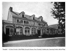 Deepdale | Great Neck, Long Island estate of William K. Vanderbilt II designed by Horace Trumbauer c. 1902. Featured in America's Homes & Gardens 1906.
