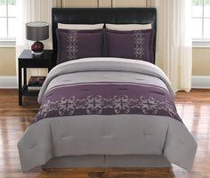 4Pcs Queen Suri Embroidered Comforter...   $49.99