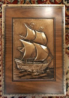 Vanha chymoksen peltirasia Marco Polo, Retro Vintage, Celestial, Painting, Art, Art Background, Painting Art, Kunst, Paintings