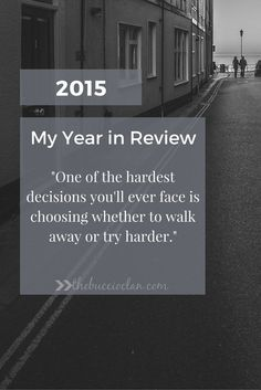2015 My Year in Review - The Buccio Clan