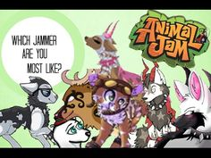 Animal Jam: Which Famous Jammer are YOU? - YouTube