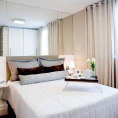 Confira 10 projetos de quartos para casal em imóvel pequeno