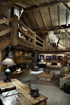 Swiss Chalet Interior