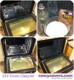 DIY Oven Cleaner Using only 3 ingredients! No harsh smells and works wonders!