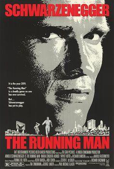 Running Man movie posters
