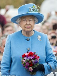 Writer Peter Morgan said he would be in a state of shock if he finally met the Queen, pictured at the unveiling of a statue of her late mother in Poundbury, Dorset yesterday