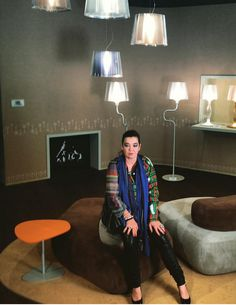 hitch mylius   hm63 collection designed by nigel coates - slamp at euroluce, milan furniture fair