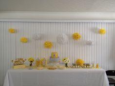 Our Pinterest inspired baby shower ....