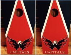 Washington Capitals  Cornhole Boards with Free Set of Bags