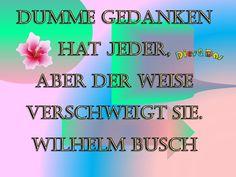 Dumme Gedanken - Dies & Das Wilhelm Busch, Movies, Movie Posters, Stupid, Jokes, Thoughts, Films, Film Poster, Cinema