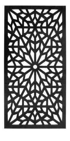 Garden screen or trellis by Screen with Envy in Kaleidoscope pattern