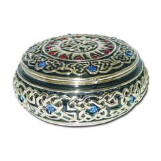 Round Celtic Jewelry Box