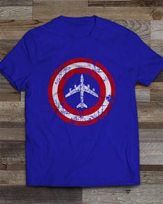 Share Squadron Posters for a 10% off coupon! Superhero-KC-135 T-Shirt #http://www.pinterest.com/squadronposters/