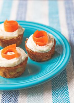 Naturally Sweetened Carrot Cake Bites @dessertfortwo