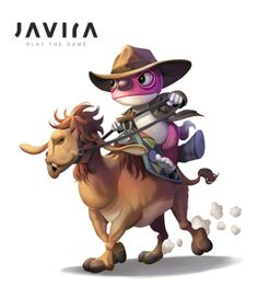 Concept art. TIMO riding on his trusted camel...   Developer blog