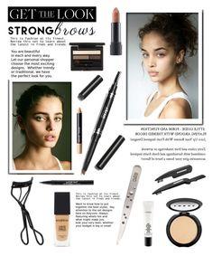 """Raise Your Brows..."" by glamorous09 ❤ liked on Polyvore featuring beauty, MAC Cosmetics, Trish McEvoy, Clé de Peau Beauté, NARS Cosmetics, Tweezerman, Bite, Smashbox, Bobbi Brown Cosmetics and LORAC"