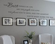 The Best Things In Life Vinyl wall decals ~ Love Memories Wall Quote Home Art Vinyl Decal Sticker ,Free shipping large size new-in Wall Stickers from Home & Garden on Aliexpress.com | Alibaba Group