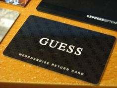 Guess Gift Card!