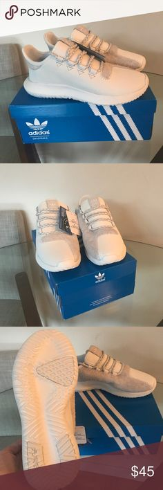 NIB adidas tubular shadow men's size 5 women's 7.5 New in box with tags. Never worn. adidas Shoes Sneakers