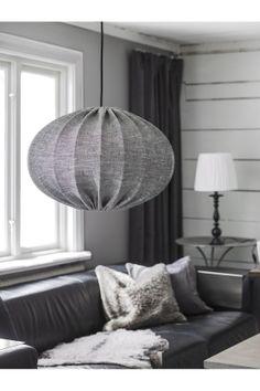 Lampa wisząca abażurowa szara Hilma 50 cm - PR Home I Casabianca Home Ceiling, Ceiling Lamp, Ceiling Lights, Big Houses, Discount Designer, My Dream Home, Lamp Light, Teak, Bean Bag Chair