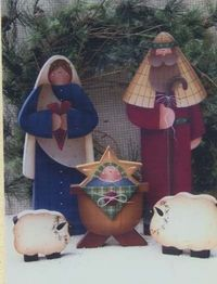 bb posted Wood Pattern ~ Wood Craft Pattern ~ Plum Purdy to their -christmas xmas ideas- postboard via the Juxtapost bookmarklet. Christmas Wood Crafts, Nativity Crafts, Christmas Nativity, Primitive Christmas, Country Christmas, Winter Christmas, Christmas Decorations, Christmas Ornaments, Nativity Sets