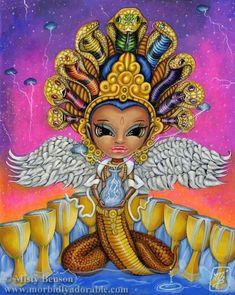 Card of the Day – 9 of Cups – Sunday, February 7, 2021 – Tarot by Cecelia Nine Of Cups, Tarot By Cecelia, Rainbow Serpent, Coming Up Roses, Tarot Decks, Acrylic Painting Canvas, Tarot Cards, Fantasy Art, Original Paintings