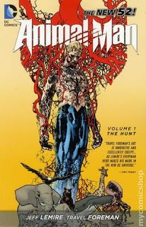 Graphic Novel: Animal Man (New 52) Vol. 1: The Hunt by Jeff Lemire