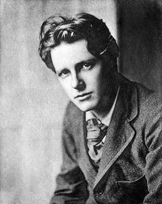 Rupert Brooke in 1915 - Friend of Virginia Woolf