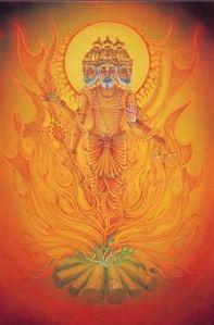 Agni God of Protection
