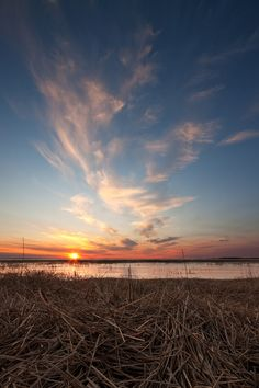 Sunset over the Shoal Lakes area, north of Woodlands, Manitoba. Photo by winnipegkevin.