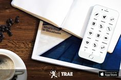 Save your design ideas and plans on Trae. Now available on the Apple App Store for download.