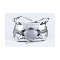Tod's Women's Evening Buckle Handbag Silver