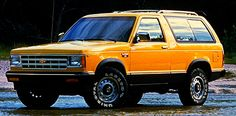 In 1983, we got this S-10 Blazer (in black) that Katie rolled on El Camino in Menlo Park and it became part of history 4 months after it left the showroom floor. Fortunately, Katie was unharmed.