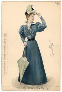 1896, Plate 084 :: Costume Institute Fashion Plates