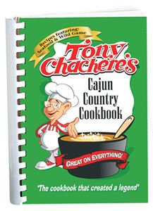 Tony Chachere - Tony Chachere's Cajun Country Cookbook #