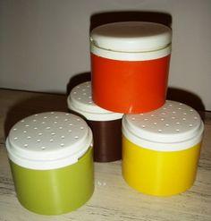 even tupperware is vintage retro-hot!  http://www.etsy.com/listing/91769834/vintage-kitschy-kitsch-vintage