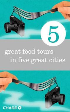 Hungry for a different kind of city tour? Walk and nosh your way through New Orleans, San Francisco, Chicago, Miami and New York with these tasty food tours.