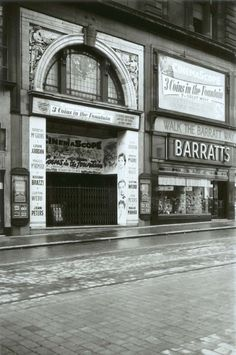 The opening of La Scala cinema in Sauchiehall Street by the Glasgow Photo Playhouse in 1912 was a sign that film entertainment had become well established in Glasgow. The cinema's interior was modernised in 1936 and again in 1976, with a conversion to three screens. When La Scala eventually closed in 1984 it was the oldest surviving cinema in Glasgow. The premises were subsequently converted to serve as a book shop. - TheGlasgowStory
